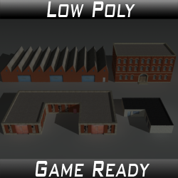 Factory Building Set 01