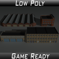 Factory Building Set 03